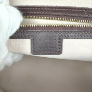 Louis Vuitton Bordeaux Monogram Mini Lin Josephine GM Boston Speedy Bag  862032