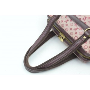 Louis Vuitton Bordeaux Monogram Mini Lin Josephine PM Boston Speedy 861673
