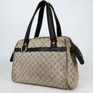 Louis Vuitton Monogram Khaki Josephine Speedy Boston Bowler 860155