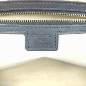 Louis Vuitton Monogram Mini Lin Josephine GM Speedy Navy Blue Grey 860422