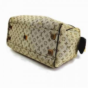 Louis Vuitton Khaki Olive Monogram Mini Lin Josephine Speedy Boston 860371