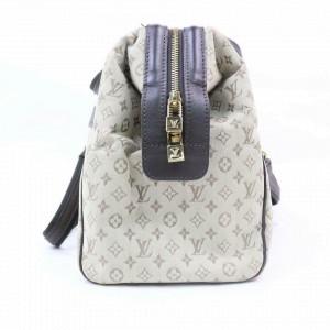 Louis Vuitton Khaki Monogram Mini Lin Josephine Bandouliere Speedy with Strap 857708