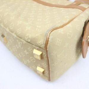 Louis Vuitton Beige Monogram Mini Lin Josephine PM Boston Speedy 858866