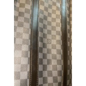Louis Vuitton Damier Graphite Keepall Bandouliere 45 with Strap 861111