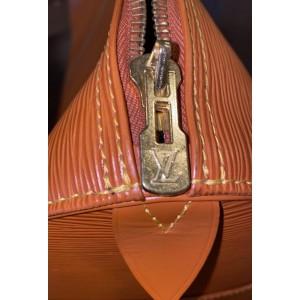 Louis Vuitton Brown Epi Leather Keepall 50 Boston Duffle MM 861621