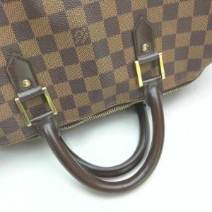 Louis Vuitton Damier Ebene Rivera GM Boston Duffle Travel Alma Keepall 861519