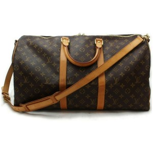 Louis Vuitton Monogram Keepall Bandouliere 50 Duffle with strap 860679