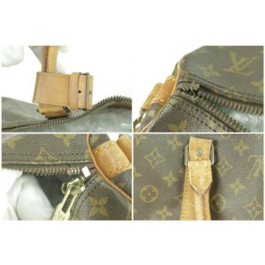 Louis Vuitton Keepall Bandouliere 55 with Strap Monogram Duffle 232496