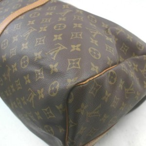 Louis Vuitton Monogram Keepall Bandouliere 60 Duffle with Strap 860836