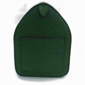 Louis Vuitton Green Epi Leather Borneo Keepall 45 Duffle 860599