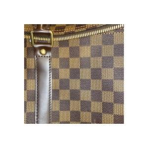 Louis Vuitton Damier Ebene Keepall Bandouliere 55 Boston Duffle GM 806903