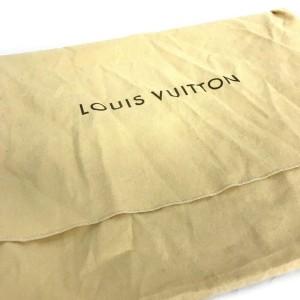 Louis Vuitton Damier Ebene Keepall Bandouliere 55 Boston Duffle with Strap 860690