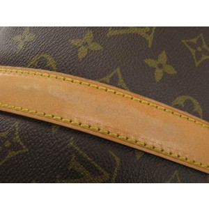 Louis Vuitton Monogram Keepall Bandouliere 50 Duffle MM Bag with Strap 861794