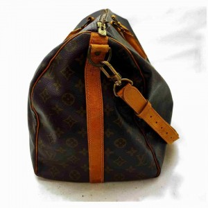 Louis Vuitton Monogram Keepall Bandouliere 50 Duffle with Strap 860839