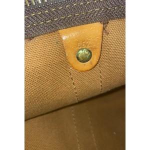 Louis Vuitton Monogram Keepall Bandouliere 55 Boston Duffle GM with Strap 861470