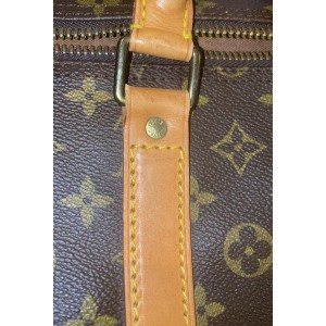 Louis Vuitton Monogram Keepall Bandouliere 60 Boston Duffle GM with strap 861463