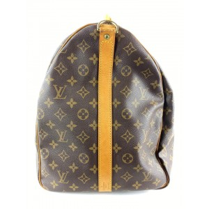 Louis Vuitton Monogram Keepall Bandouliere 60 Duffle with Strap  861868