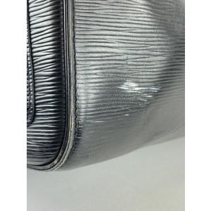 Louis Vuitton Black Epi Leather Noir Keepall 45 Duffle 861912