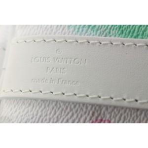 Louis Vuitton Watercolor Monogram Multicolor Keepall Bandouliere 50 Duffle 66lvs423