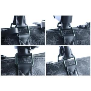 Louis Vuitton Monogram Eclipse VivienneKeepall 50 Bandouliere9LR0604