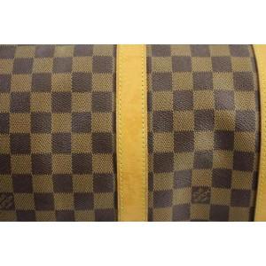 Louis Vuitton ( EXTREMELY RARE ) Centenaire Damier Ebene Keepall 50 107LVA129