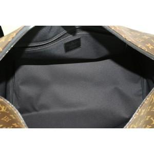 Louis Vuitton Runway Virgil Abloh ss19 Monogram Chain Bandouliere Keepall 50 3LZ0114
