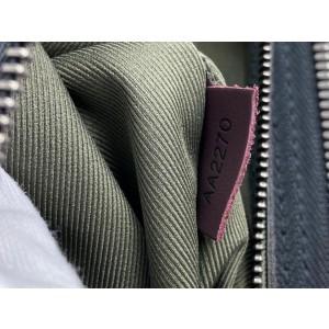 Louis Vuitton Mon Monogram Stripe Neverfull GM Red Tote Bag Large 858623