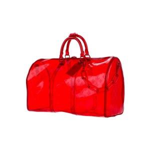 Louis Vuitton  Virgil Abloh RGB SS19 Clear Bandouliere Keepall 50 861245