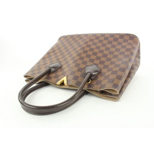 Louis Vuitton Damier Ebene Kensington Tote Bag 323lvs517