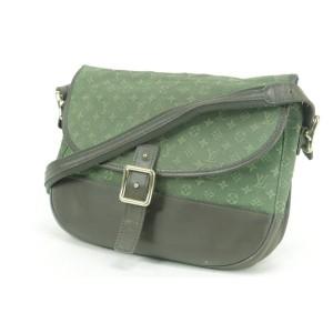 Louis Vuitton Monogram Mini Lin Khaki Berangere Flap 4LK0103