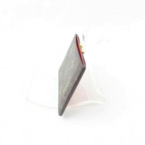 Louis Vuitton Kimono Card Holder Case Wallet Monogram Red Taurillon Leather 872471