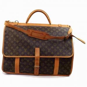 Louis Vuitton Monogram Sac Kleber with Strap Travel Bag 860488