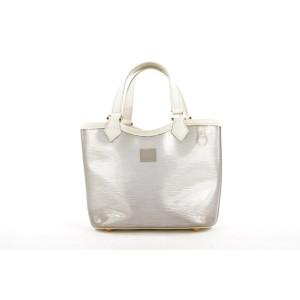 Louis Vuitton White Clear Epi Plage Mini Lagoon Bay Tote 248lvs212