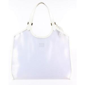 Louis Vuitton Clear Epi Plage Baia Translucent Lagoon Bay Tote Bag 7lvs1229
