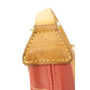 Louis Vuitton Red LV Cup Le Touquet Hobo Bag 772lvs41