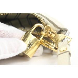 Louis Vuitton Neige Monogram Empreinte Lumineuse PM 2way Tote Bag 862823