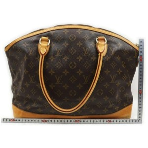 Louis Vuitton Monogram Lockit Horizontal Large Bowling Bag  861994