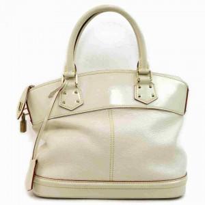 Louis Vuitton Ivory Suhali Leather Lockit PM 860178
