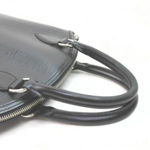 Louis Vuitton Black Epi Leather Lockit 861175