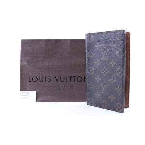 Louis Vuitton Monogram Long Bifold Check Wallet 226403