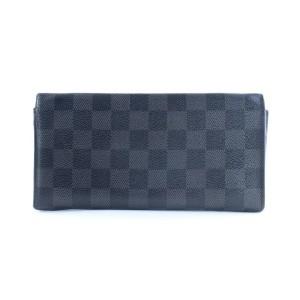 Louis Vuitton Damier Graphite Long Wallet 4LR859