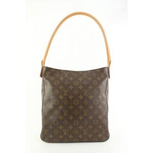 Louis Vuitton Monogram Looping GM Zip Hobo Bag 218lvs55
