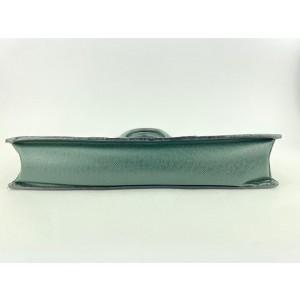 Louis Vuitton Green Taiga Leather Lozan Attache Briefcase 40LVL1125