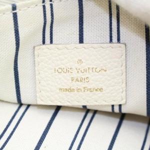 Louis Vuitton Lumineuse Ivory White Monogram Empreinte 2way 857709