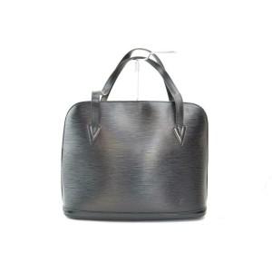 Louis Vuitton  Black Epi Noir Lussac Zip Tote 8701839