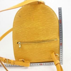 Louis Vuitton Yellow Epi Mabillon Mini Backpack 871495
