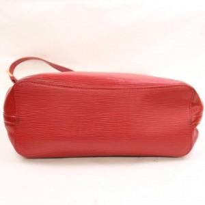 Louis Vuitton Mandara Hobo Epi Mm 868362 Red Leather Shoulder Bag
