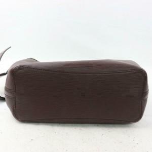 Louis Vuitton Moka Brown Epi Mandara MM 870580