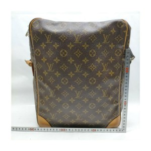 Louis Vuitton XL Monogram Danube GM Messenger Crossbody Bag 863222