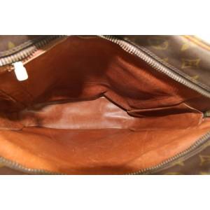 Louis Vuitton XL Monogram Danube GM Crossbody Messenger Bag 160lvs25